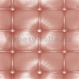 Samolepiace tapety d-c-fix - imitácia kože - hnedá 45 cm x 15 m