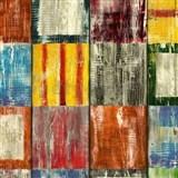 Samolepiaca tapeta drevená mozaika Bahia  - 67,5 cm x 2 m (cena za kus)