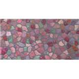 Samolepiaca fólia mozaika farebná -  45 cm x 2 m
