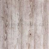 Samolepiaca tapeta štruktúrované drevo sivé  - 90 cm x 2,1 m (cena za kus)