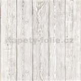 Samolepiaca tapeta staré drevo sivé  - 90 cm x 2,1 m (cena za kus)