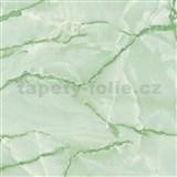 Samolepiace tapety d-c-fix - mramor aquarell zelená 90 cm x 15 m