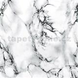 Samolepiace tapety d-c-fix - mramor marmi biela , metráž, šírka 67,5 cm, návin 15 m,