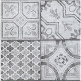 Vinylové samolepiace podlahové štvorce Classic Maroccan sivý rozmer 30,5 cm x 30,5 cm