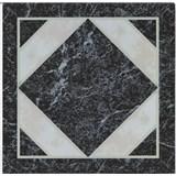 Vinylové samolepiace podlahové štvorce Classic mramor čiernobiely rozmer 30,5 cm x 30,5 cm