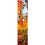 Samolepiace dekoračné pásy les na jeseň rozmer 60 cm x 260 cm