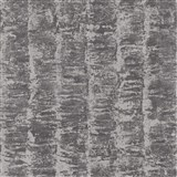 Luxusné vliesové tapety na stenu G.M.Kretschmer Deluxe pruhy strieborné na sivom podklade