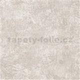 Tapety na stenu La Veneziana - kovový vzhľad - krémovo biely