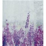 Vliesové fototapety lučné kvety rozmer 225 cm x 250 cm