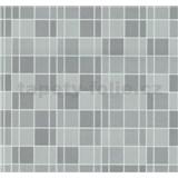 Vliesové tapety na stenu Easy Wall obklad kachličky sivé