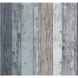 Vliesové tapety Einfach Shöner drevené dosky modré