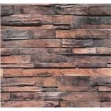 Vliesové tapety na stenu Einfach Schoner drevo béžovo-sivá patina