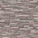 Vliesové tapety na stenu Imitations drevený obklad sivo-hnedý
