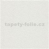 Vinylové tapety na stenu Grafics & Basics omietkovina biela s trblietkami