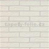 Vinylové tapety na stenu Imitations tehla biela
