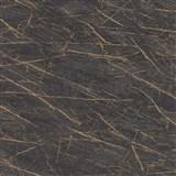 Vliesové tapety na stenu IMPOL Factory 4 mramor tmavo sivý so zlatým žíhaním