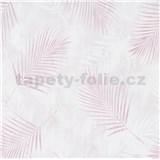 Vliesové tapety na stenu G.M.K. Fashion for walls palmové listy ružové