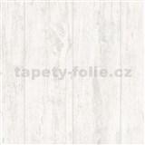 Vliesové tapety na stenu Felicita dosky s výraznou textúrou a perleťovými odlesky bielené