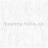 Vliesové tapety na stenu IMPOL Finesse vertikálna stierka biela so striebornými odleskami