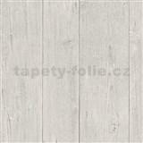 Vliesové tapety na stenu IMPOL Finesse drevo svetlo hnedé
