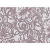 Samolepiace tapety transparentné Rose šírka 45 cm