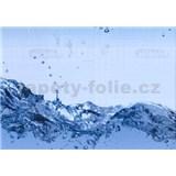 Samolepiace tapety transparentné Wave - šírka 45 cm