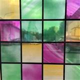 Statická fólia transparentné štvorca , metráž, šírka 67,5 cm, návin 15 m,