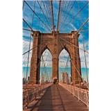 Vliesové fototapety Brooklyn Bridge rozmer 150 cm x 250 cm