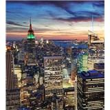 Vliesové fototapety New York mrakodrapy rozmer 225 cm x 250 cm