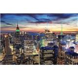 Vliesové fototapety New York mrakodrapy rozmer 375 cm x 250 cm