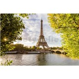 Vliesové fototapety Eiffelova veža rozmer 375 cm x 250 cm