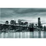 Vliesové fototapety Brooklyn Bridge, rozmer 312 cm x 219 cm