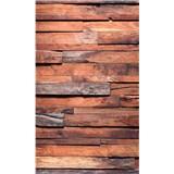 Vliesové fototapety drevená stena rozmer 150 cm x 250 cm