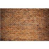 Vliesové fototapety tehlová stena rozmer 375 cm x 250 cm