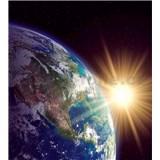 Vliesové fototapety zemegule rozmer 225 cm x 250 cm