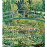 Vliesové fototapety Water lily pond - Calude Oskar Monet rozmer 225 cm x 250 cm