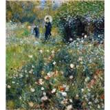 Vliesové fototapety Ženy v záhrade - Pierre Auguste Renoir rozmer 225 cm x 250 cm