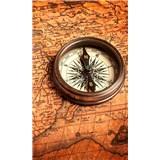 Vliesové fototapety kompas rozmer 150 cm x 250 cm