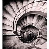 Vliesové fototapety špirálové schodisko rozmer 225 cm x 250 cm
