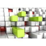 Vliesové fototapety 3D boxy rozmer 375 cm x 250 cm