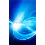 Vliesové fototapety abstrakt modrý rozmer 150 cm x 250 cm
