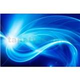 Vliesové fototapety abstrakt modrý rozmer 375 cm x 250 cm