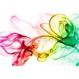 Vliesové fototapety dym farebný rozmer 375 cm x 250 cm