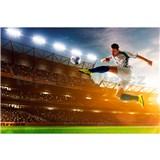 Vliesové fototapety futbalový hráč rozmer 375 cm x 250 cm