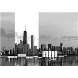 Vliesové fototapety urban city, rozmer 312 x 219 cm