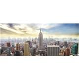 Vliesové fototapety New York Manhattan rozmer 250 cm x 104 cm