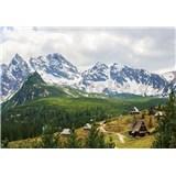 Vliesové fototapety Alpy, rozmer 416 cm x 254 cm