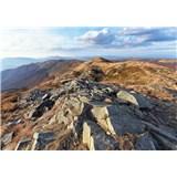 Vliesové fototapety výhľad z hôr, rozmer 152,5 cm x 104 cm