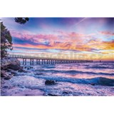 Vliesové fototapety more a západ slnka, rozmer 208 cm x 146 cm