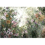 Vliesové fototapety lučné kvety rozmer 368 cm x 254 cm